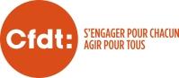 Berger dévoile le nouveau logo de la CFDT qui conserve la couleur orange