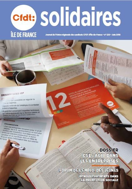 Solidaires cfdt idf 520 couv