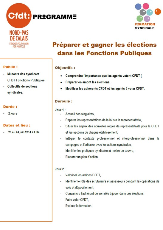 comment gagner une election syndicale